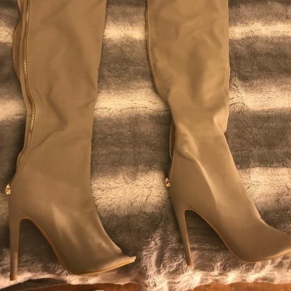 ac9f91638003 Cape Robbin Shoes - New pep toe thigh high Heels.
